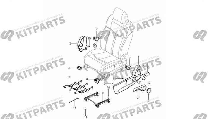 Сиденье водителя кожа с ручной регулировкой - механизмы и ручки DongFeng AX7