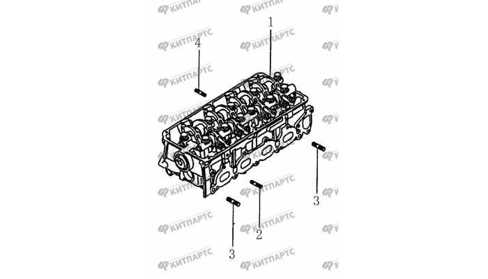 Шпильки головки блока цилиндров BYD F3 (F3R)