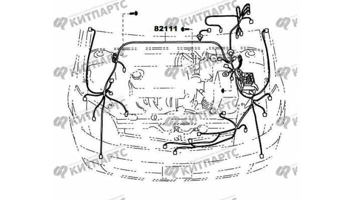 Жгут проводов моторного отсека FAW Vita