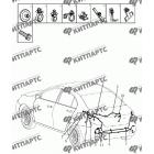 Жгут проводов задний (седан)