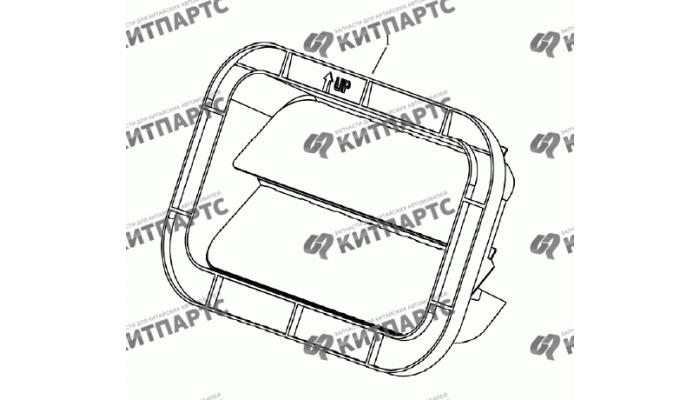Вентиляция багажника (седан) Geely Emgrand (EC7)
